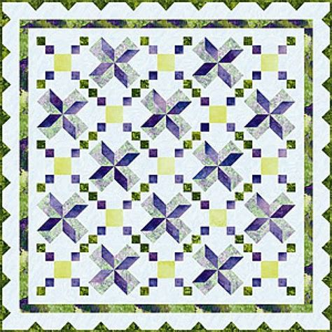 Stargazer Quilt Pattern by Stargazer Quilt Kit 81x81