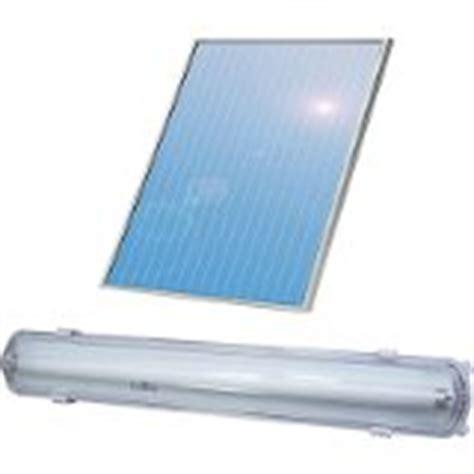 Solar Fluorescent Light Fluorescent Garage Light Green Energy Efficient Homes