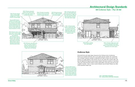 design criteria standards house plans and design architectural design guidelines