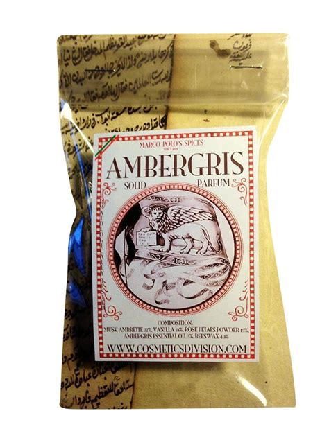 Parfum Ambergris ambergris solid s perfume 25g perfumes