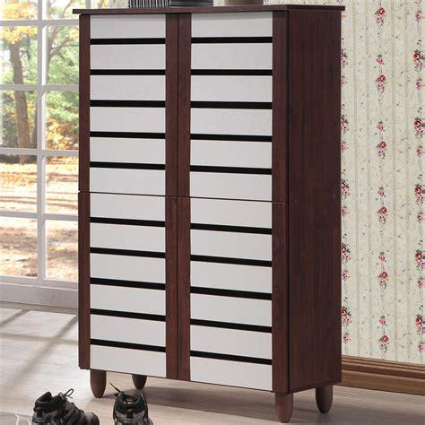 white wood storage cabinet acme furniture ceara white storage cabinet 97378 the