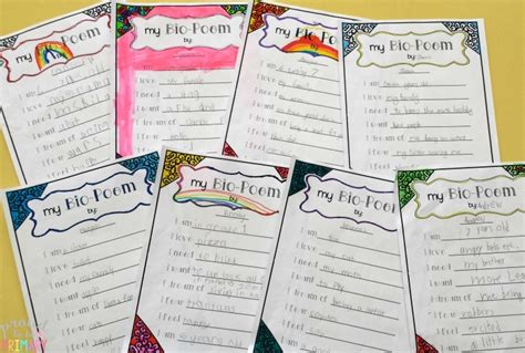 biography lesson plans first grade bio poetry writing proud to be primary