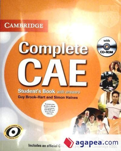 libro argelagues complete cae student s book pack student s book with answers with cd rom and class audio cds 3