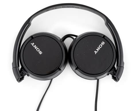 Headphone Mdr Zx110 sony mdr zx110 ear headphones black ebay