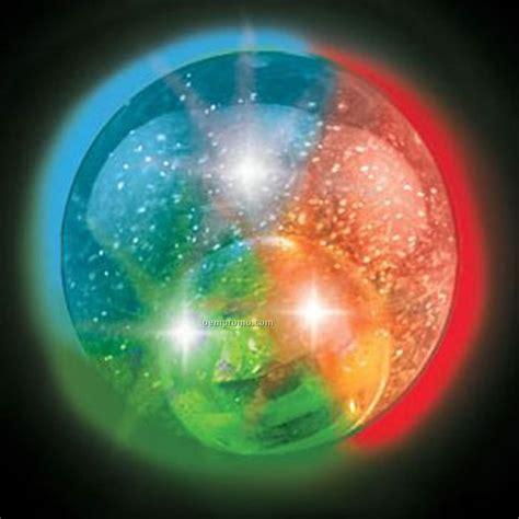 light up balls iridescent glitter light up w multi led china
