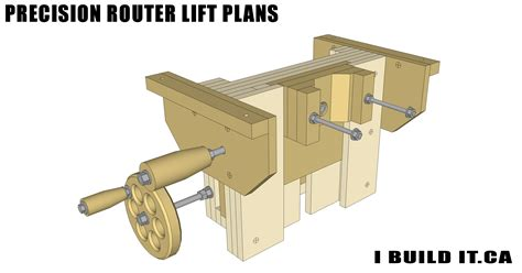 precision router lift plans plans ibuilditca