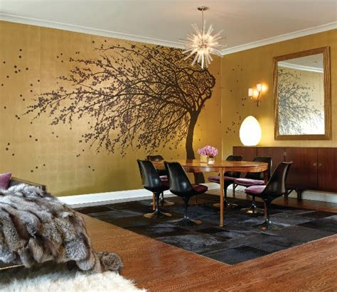 color interiors metallic gold bronze fabulousness design indulgences