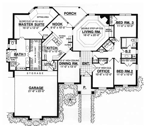 bowling alley floor plans bowling green manor ranch home plan 030d 0067 house plans and more