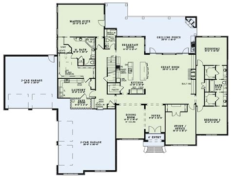floor house plan european plan 4 076 square feet 3 bedrooms 3 5
