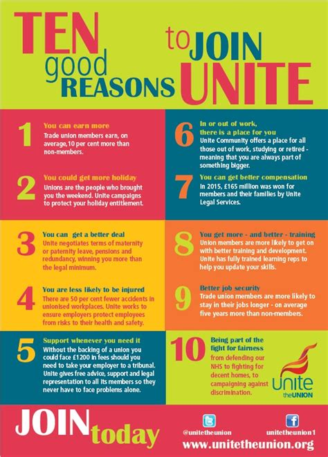 joining a trade union how to join unite the union