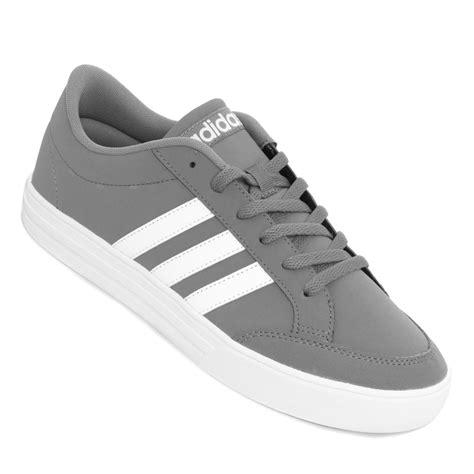 Neo Set tenis adidas neo set gris y blanco