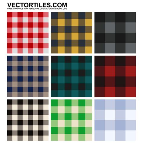 pattern fabric vector flannel fabric patterns vector tiles
