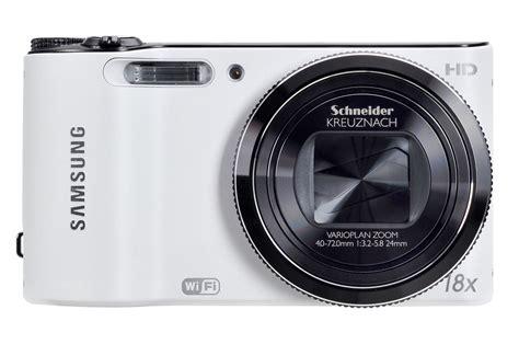 photo wifi appareil photo compact samsung wb150f wifi blanc 3592740