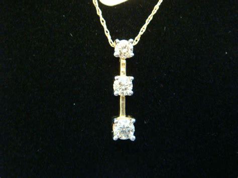 14k yellow gold past present future pendant ebay
