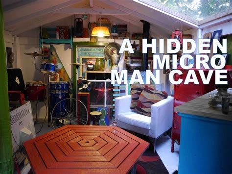 Micro man cave cabin american pickers style tiny house youtube