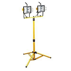 arlec 1000w halogen worklight with tripod 1000w halogen work light with stand