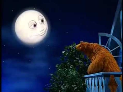 the moon the bear and the big blue house bear in the big blue house youtube