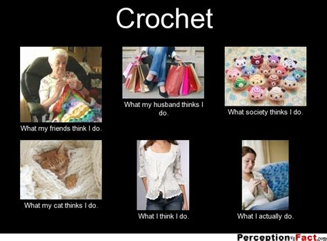 crochet what think i do what i really do