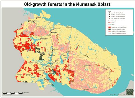 maps murmansk russia the last of the last the growth forests in the