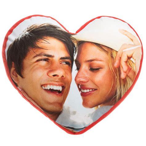 cuscini a cuore con foto cuscino cuore personalizzato con foto nome dedica