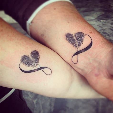 thumbprint heart tattoo 28 designs for every taste ritely
