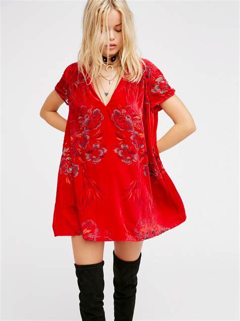 Velvet Mini Dress actin single velvet mini dress at free clothing