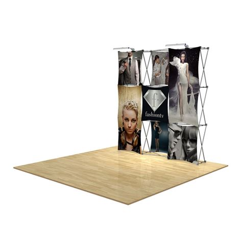 floor display 3d 3x3 3d snap floor display layout 4 impact displays