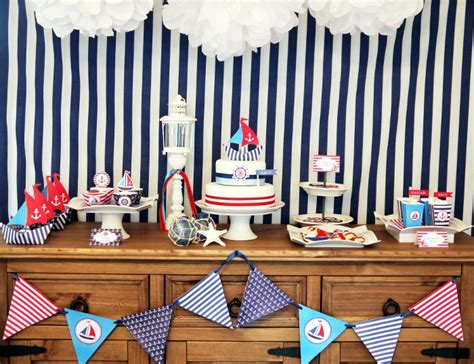 nautical theme ships ahoy a boys nautical party b lovely events