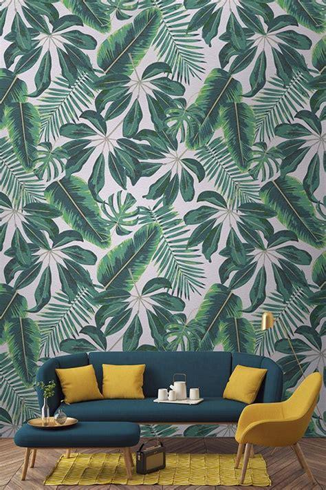 tropical wallpaper ideas  pinterest