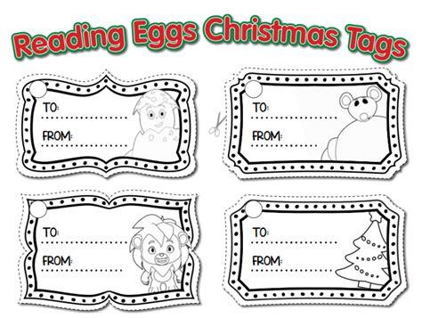 printable christmas gift tags to colour printable christmas gift tags the reading eggs blog