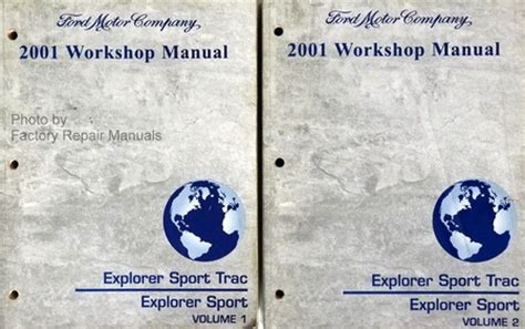 online service manuals 2001 ford explorer sport auto manual 2001 ford explorer sport trac and sport factory service manual set shop repair factory