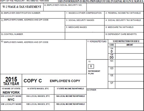 w2 form template w 2 wage and tax statement explained opa