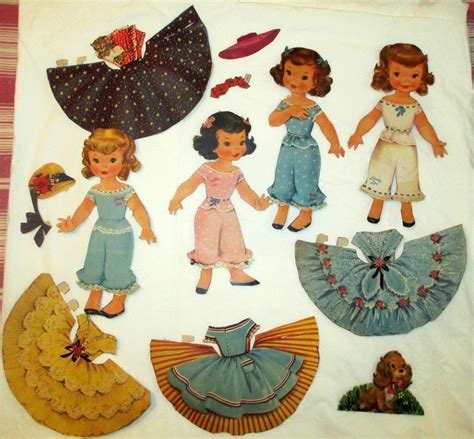 paper dolls craft hometalk diy ideas for 1950 s paper dolls