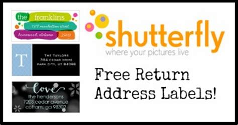 Use Address Labels For Good Just B Cause Free Return Address Label