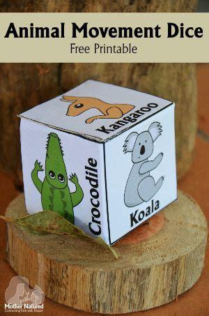 printable animal dice animal yoga for kids free printable