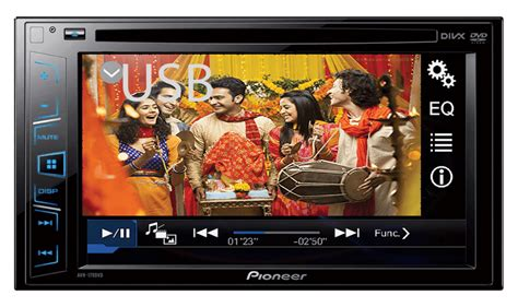 dvd player usb movie format pioneer india avh 179dvd play multiple usb video