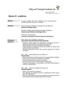Diesel Mechanic Resume Objective by Diesel Mechanic Resume Student Resume Template