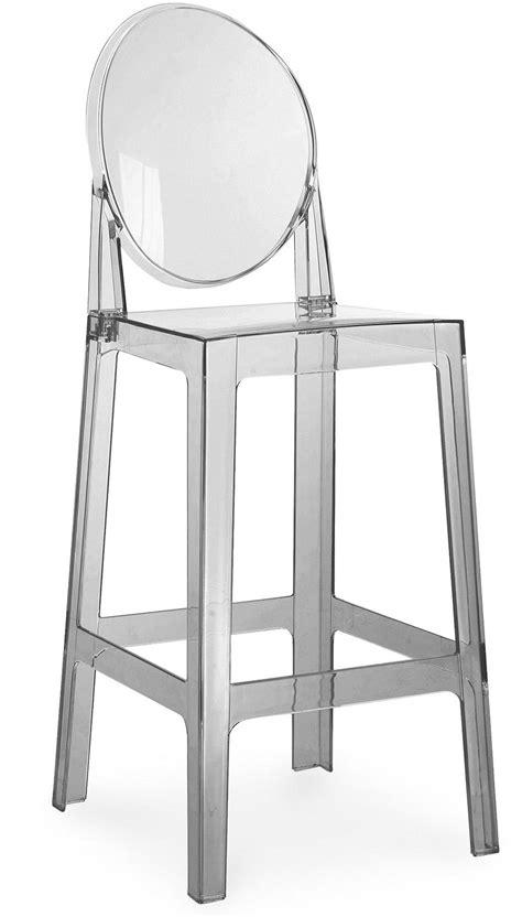 Tabouret Polycarbonate by Tabouret Polycarbonate Gris Transparent Inspir 233 Louis