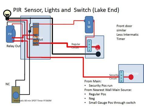 wiring diagram for pir security sensor 38 wiring diagram