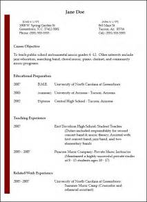 Exles Resumes by Resumes National Association For Education Nafme
