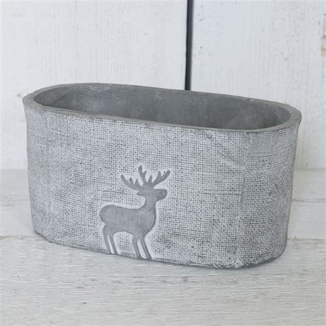 ceramic trough satchville gift co planter