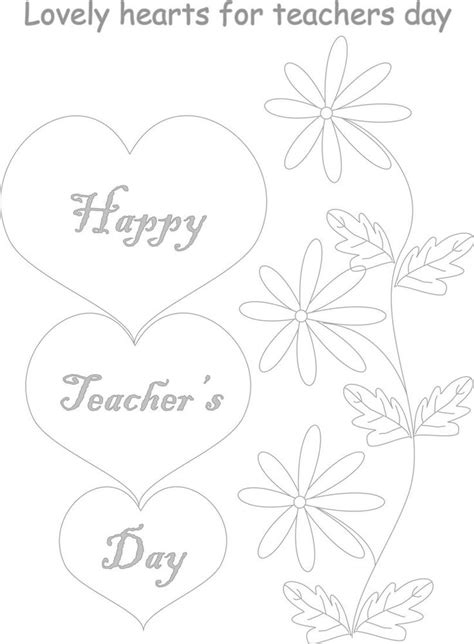 11 best teacher s day images on pinterest coloring pages