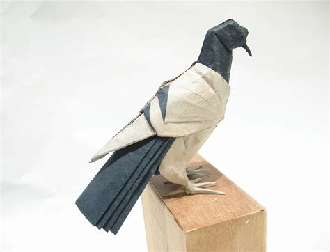 Origami Pigeon - 24 beautiful migratory origami birds for the origamimigration