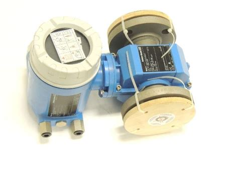 electromagnetic flow meter endress hauser new endress hauser promag electromagnetic flowmeter 50p50