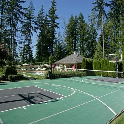 backyard tennis courts backyard tennis basketball court exteriors