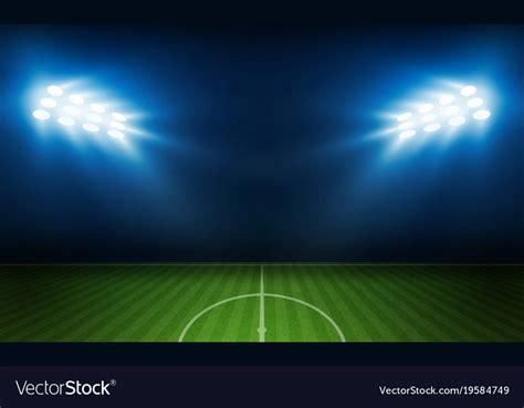 football stadium lights prices football arena field with bright stadium lights vector image
