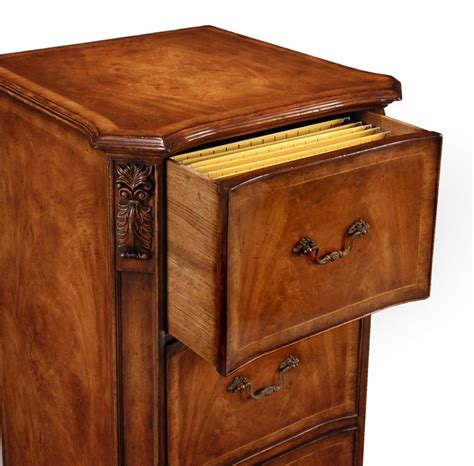 home accessories three drawer filing cabinet in antique