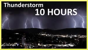 Thunderstorm and rain sounds 10 hours sleep music youtube