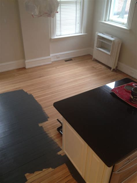 Painted Hardwood Floors   Interesting Interiors