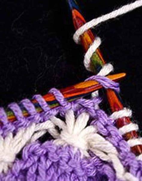 wrap stitch knitting how to knit wrapped stitches